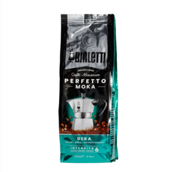 Kawa mielona Bialetti Perfetto Moka Deka - Kawa bezkofeinowa 250g