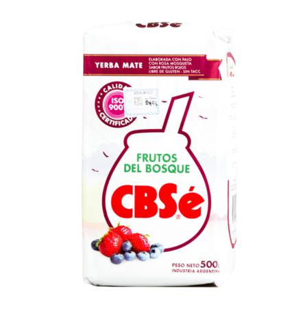 CBSe Frutos del Bosque - yerba mate 500g