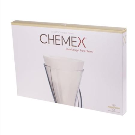 Chemex filtry papierowe 3 filiżanki - 100 szt