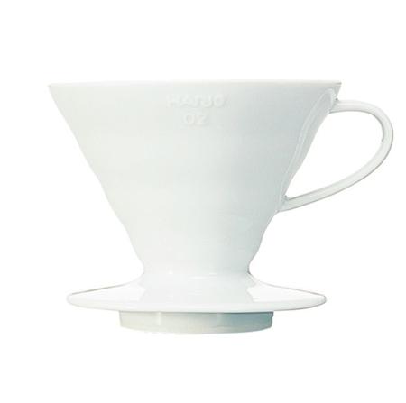 Hario Bloom ceramiczny Drip V60-02 Biały
