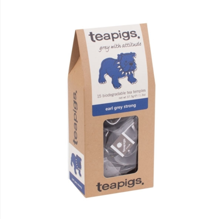 Herbata czarna Teapigs Earl Grey Strong 15 piramidek