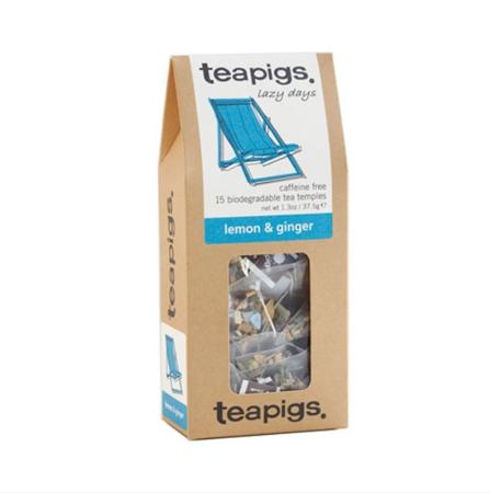 Herbata ziołowa Teapigs Lemon & Ginger 15 piramidek