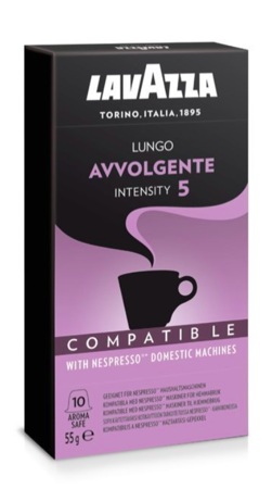 Kapsułki do Nespresso Lavazza Avvolgente - 10 sztuk