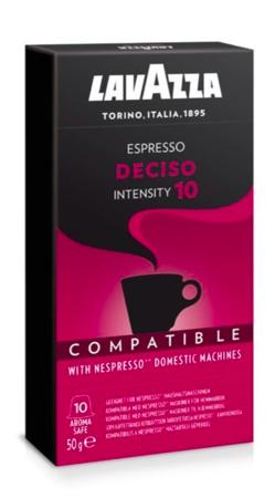 Kapsułki do Nespresso Lavazza Deciso - 10 sztuk