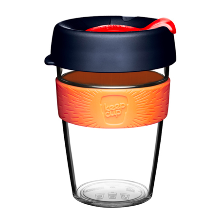 KeepCup Orginal Clear Shamrock 340ml