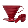 Plastikowy Drip Hario V60-02 - Czerwony